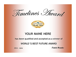 Future Award Certificate